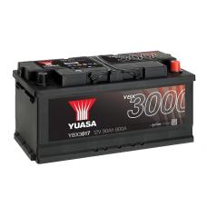 YBX3017 SMF Battery 90Ah (740A) -/+ (0)
