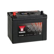 YBX3031 SMF Battery 70Ah (570A) +/- (1)