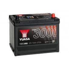 YBX3068 SMF Battery 70Ah (570A) -/+ (0)