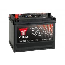 YBX3069 SMF Battery 70Ah (570A) +/- (1)
