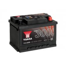YBX3075 SMF Battery 60Ah (550A) -/+ (0)