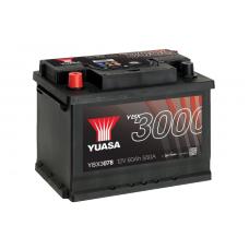YBX3078 SMF Battery 60Ah (550A) +/- (1)