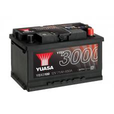 YBX3100 SMF Battery 71Ah (650A) -/+ (0)
