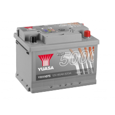 YBX5075 Silver High Performance Battery 60Ah (620A) -/+ (0)