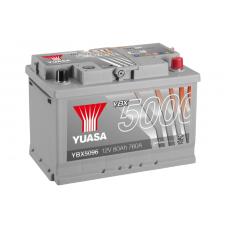 YBX5096 Silver High Performance Battery 80Ah (760A) -/+ (0)