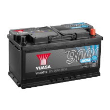 YBX9019 AGM Start Stop Plus Battery 95Ah (850A) -/+ (0)