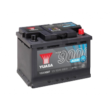 YBX9027 AGM Start Stop Plus Battery 60Ah (680A) -/+ (0)